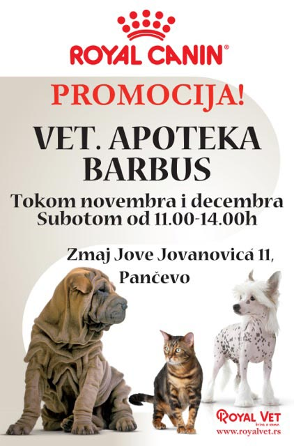Royal Canin promocija