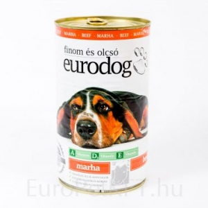 eurodog konzerva pile
