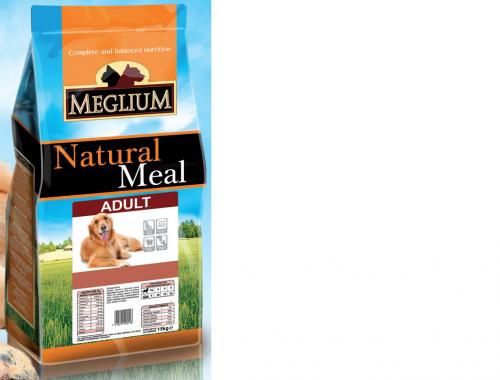 meglium dog adult 15kg
