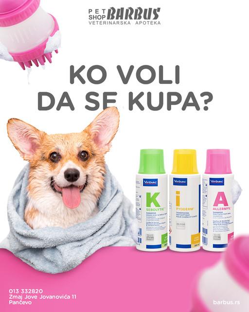 Medicinski šamponi – Virbac